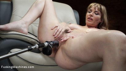 Photo number 8 from Kink Legend Dana DeArmond is Back to Fuck Our Machines shot for Fucking Machines on Kink.com. Featuring Dana DeArmond in hardcore BDSM & Fetish porn.