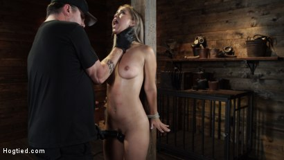 Photo number 11 from Alina Lopez: Tormented in Extreme Bondage and Made to Cum shot for Hogtied on Kink.com. Featuring Alina Lopez in hardcore BDSM & Fetish porn.