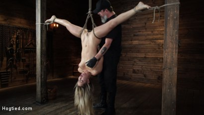Photo number 13 from Alina Lopez: Tormented in Extreme Bondage and Made to Cum shot for Hogtied on Kink.com. Featuring Alina Lopez in hardcore BDSM & Fetish porn.