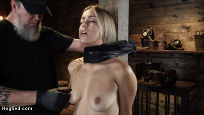 Photo number 2 from Alina Lopez: Tormented in Extreme Bondage and Made to Cum shot for Hogtied on Kink.com. Featuring Alina Lopez in hardcore BDSM & Fetish porn.