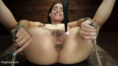Harmony Wonder: 19 Year Old Tormented and Cums in Grueling Bondage