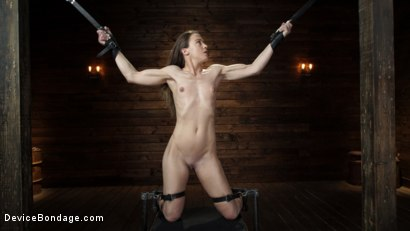 Photo number 1 from Cheyenne Jewel: Body Builder is Restrained in Diabolical Devices shot for Device Bondage on Kink.com. Featuring Cheyenne Jewel in hardcore BDSM & Fetish porn.