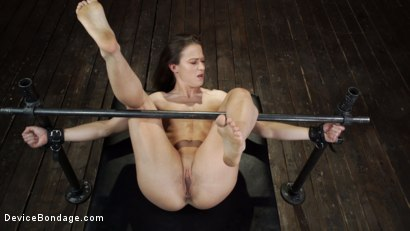 Photo number 15 from Cheyenne Jewel: Body Builder is Restrained in Diabolical Devices shot for Device Bondage on Kink.com. Featuring Cheyenne Jewel in hardcore BDSM & Fetish porn.