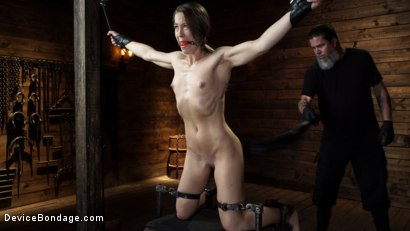 Photo number 2 from Cheyenne Jewel: Body Builder is Restrained in Diabolical Devices shot for Device Bondage on Kink.com. Featuring Cheyenne Jewel in hardcore BDSM & Fetish porn.