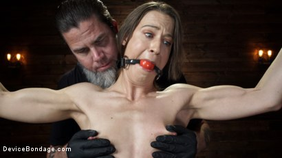 Photo number 4 from Cheyenne Jewel: Body Builder is Restrained in Diabolical Devices shot for Device Bondage on Kink.com. Featuring Cheyenne Jewel in hardcore BDSM & Fetish porn.