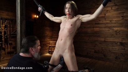 Photo number 5 from Cheyenne Jewel: Body Builder is Restrained in Diabolical Devices shot for Device Bondage on Kink.com. Featuring Cheyenne Jewel in hardcore BDSM & Fetish porn.