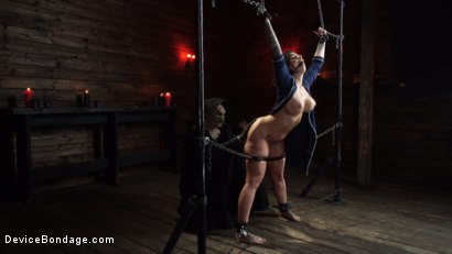 Photo number 10 from Nightmares Do Come True: Ivy LeBelle Confronted By Her Fears shot for Device Bondage on Kink.com. Featuring Ivy LeBelle in hardcore BDSM & Fetish porn.