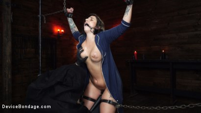 Photo number 11 from Nightmares Do Come True: Ivy LeBelle Confronted By Her Fears shot for Device Bondage on Kink.com. Featuring Ivy LeBelle in hardcore BDSM & Fetish porn.