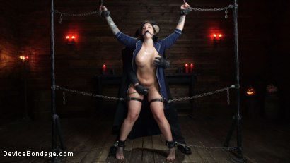 Photo number 12 from Nightmares Do Come True: Ivy LeBelle Confronted By Her Fears shot for Device Bondage on Kink.com. Featuring Ivy LeBelle in hardcore BDSM & Fetish porn.