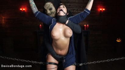 Photo number 14 from Nightmares Do Come True: Ivy LeBelle Confronted By Her Fears shot for Device Bondage on Kink.com. Featuring Ivy LeBelle in hardcore BDSM & Fetish porn.