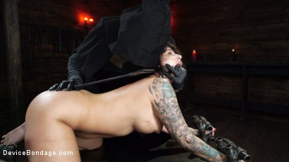 Photo number 25 from Nightmares Do Come True: Ivy LeBelle Confronted By Her Fears shot for Device Bondage on Kink.com. Featuring Ivy LeBelle in hardcore BDSM & Fetish porn.