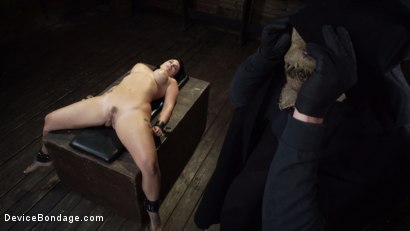 Photo number 29 from Nightmares Do Come True: Ivy LeBelle Confronted By Her Fears shot for Device Bondage on Kink.com. Featuring Ivy LeBelle in hardcore BDSM & Fetish porn.