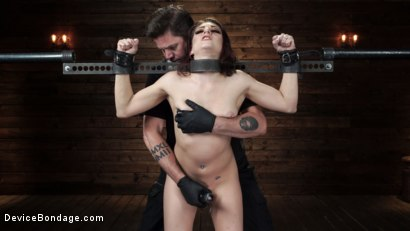 Photo number 6 from Nikki Knightly: Girl Next Door Gone Goth is Bound and Tormented shot for Device Bondage on Kink.com. Featuring Nikki Knightly in hardcore BDSM & Fetish porn.