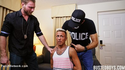 Photo number 5 from Busted Boys - Brandon Blake - Beach Boy Broken shot for FetishNetwork Male on Kink.com. Featuring Brandon Blake, Tim Hanes and Roman Ray in hardcore BDSM & Fetish porn.