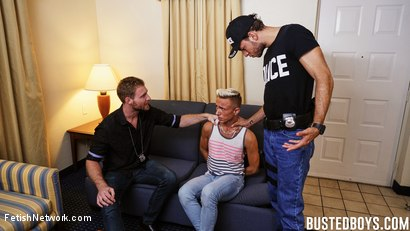Photo number 6 from Busted Boys - Brandon Blake - Beach Boy Broken shot for FetishNetwork Male on Kink.com. Featuring Brandon Blake, Tim Hanes and Roman Ray in hardcore BDSM & Fetish porn.