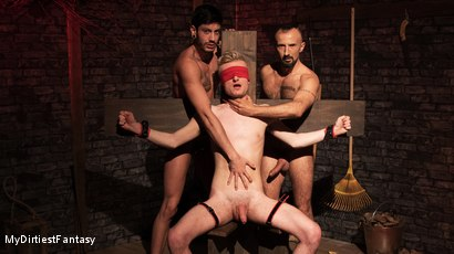 Two Studs Abuse a Twink