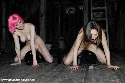 Photo number 12 from Amber Rayne Live Show, Part 2 shot for Device Bondage on Kink.com. Featuring Amber Rayne and Cherry Torn in hardcore BDSM & Fetish porn.