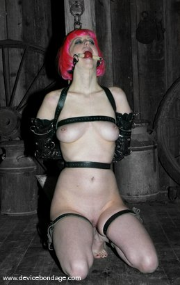 Photo number 14 from Amber Rayne Live Show, Part 2 shot for Device Bondage on Kink.com. Featuring Amber Rayne and Cherry Torn in hardcore BDSM & Fetish porn.