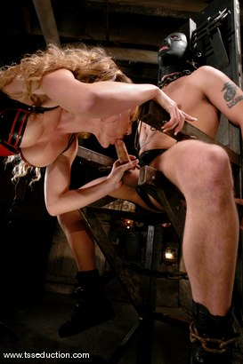 Photo number 5 from Billy and Danielle Foxxx shot for TS Seduction on Kink.com. Featuring Danielle Foxx and Billy in hardcore BDSM & Fetish porn.