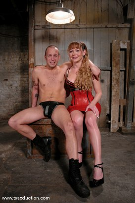 Photo number 1 from Billy and Danielle Foxxx shot for TS Seduction on Kink.com. Featuring Danielle Foxx and Billy in hardcore BDSM & Fetish porn.
