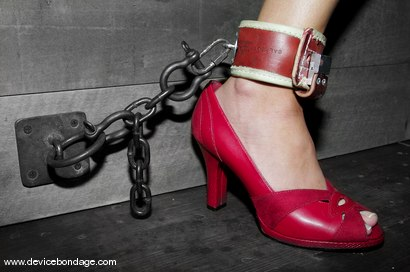 Photo number 4 from The Taming shot for Device Bondage on Kink.com. Featuring Leah Wilde in hardcore BDSM & Fetish porn.