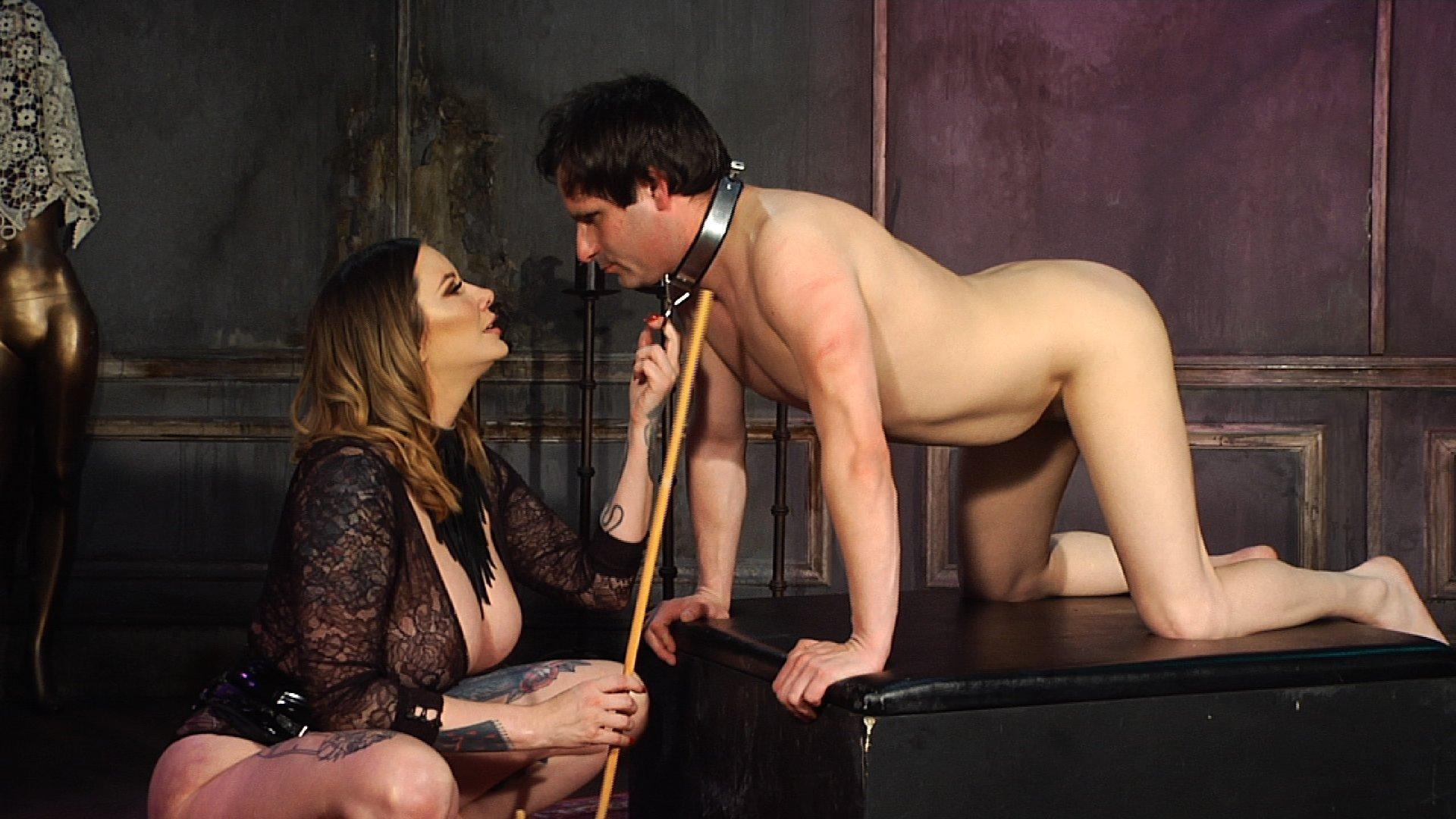 Maitresse Madeline breaks Marcelo part 2