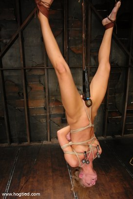 Photo number 8 from Leah Wilde shot for Hogtied on Kink.com. Featuring Leah Wilde in hardcore BDSM & Fetish porn.