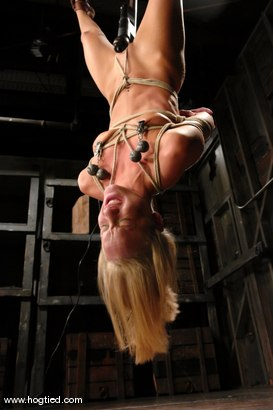 Photo number 9 from Leah Wilde shot for Hogtied on Kink.com. Featuring Leah Wilde in hardcore BDSM & Fetish porn.