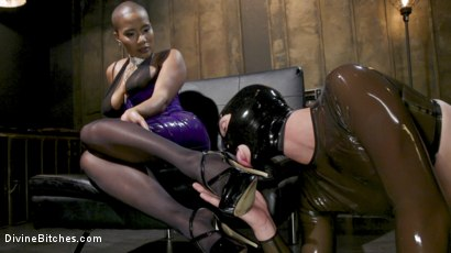 Photo number 2 from Yes Goddess: Jet Setting Jasmine and Tony Orlando shot for Divine Bitches on Kink.com. Featuring Jet Setting Jasmine and Tony Orlando in hardcore BDSM & Fetish porn.