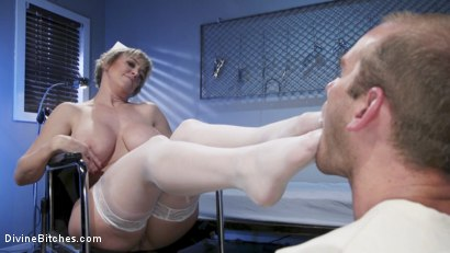 Photo number 13 from Nurse Williams: Dee Williams Dominates Patient Jonah Marx  shot for Divine Bitches on Kink.com. Featuring Dee Williams and Jonah Marx in hardcore BDSM & Fetish porn.