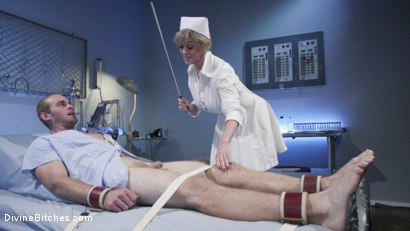 Photo number 3 from Nurse Williams: Dee Williams Dominates Patient Jonah Marx  shot for Divine Bitches on Kink.com. Featuring Dee Williams and Jonah Marx in hardcore BDSM & Fetish porn.