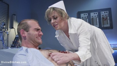 Photo number 6 from Nurse Williams: Dee Williams Dominates Patient Jonah Marx  shot for Divine Bitches on Kink.com. Featuring Dee Williams and Jonah Marx in hardcore BDSM & Fetish porn.
