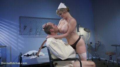 Photo number 9 from Nurse Williams: Dee Williams Dominates Patient Jonah Marx  shot for Divine Bitches on Kink.com. Featuring Dee Williams and Jonah Marx in hardcore BDSM & Fetish porn.