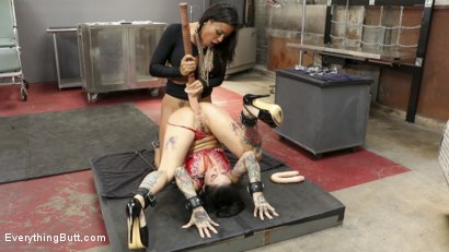Photo number 11 from Hot Anal Sluts shot for Everything Butt on Kink.com. Featuring Joanna Angel and Luna Star in hardcore BDSM & Fetish porn.