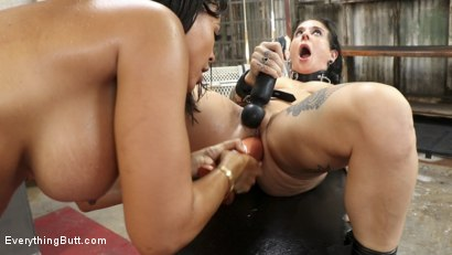 Photo number 28 from Hot Anal Sluts shot for Everything Butt on Kink.com. Featuring Joanna Angel and Luna Star in hardcore BDSM & Fetish porn.