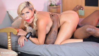 Savana Styles in Gagged and Plugged with Rob Piper