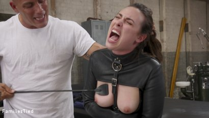 Photo number 3 from Sisterly Secrets Land Casey Calvert In Double Anal Trouble shot for  on Kink.com. Featuring Derrick Pierce, Joseline Kelly and Casey Calvert in hardcore BDSM & Fetish porn.