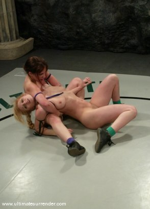 Photo number 2 from SUMMER VENGEANCE<BR>The Shark (0-2) Ranked 15th<br>Spartacus(0-0) Ranked 16th shot for Ultimate Surrender on Kink.com. Featuring Tawni Ryden and Devi Lynne in hardcore BDSM & Fetish porn.