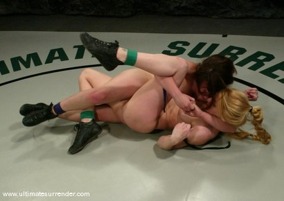 Photo number 9 from SUMMER VENGEANCE<BR>The Shark (0-2) Ranked 15th<br>Spartacus(0-0) Ranked 16th shot for Ultimate Surrender on Kink.com. Featuring Tawni Ryden and Devi Lynne in hardcore BDSM & Fetish porn.