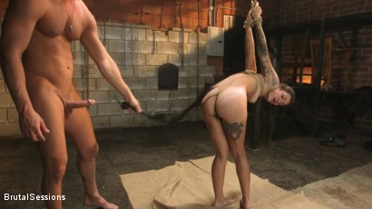 Photo number 9 from Anal Pig: Luna Lovely Abused in Rough Sex and Brutal Rope Bondage shot for Brutal Sessions on Kink.com. Featuring Seth Gamble and Luna Lovely in hardcore BDSM & Fetish porn.