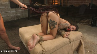 Photo number 14 from Anal Pig: Luna Lovely Abused in Rough Sex and Brutal Rope Bondage shot for Brutal Sessions on Kink.com. Featuring Seth Gamble and Luna Lovely in hardcore BDSM & Fetish porn.