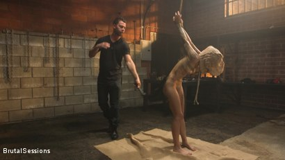 Photo number 1 from Anal Pig: Luna Lovely Abused in Rough Sex and Brutal Rope Bondage shot for Brutal Sessions on Kink.com. Featuring Seth Gamble and Luna Lovely in hardcore BDSM & Fetish porn.