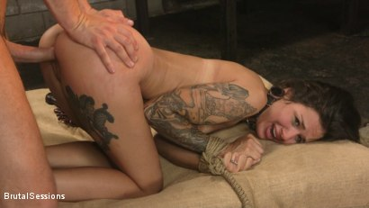 Photo number 19 from Anal Pig: Luna Lovely Abused in Rough Sex and Brutal Rope Bondage shot for Brutal Sessions on Kink.com. Featuring Seth Gamble and Luna Lovely in hardcore BDSM & Fetish porn.