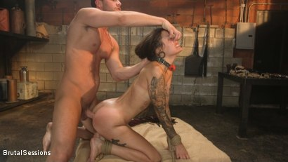 Photo number 23 from Anal Pig: Luna Lovely Abused in Rough Sex and Brutal Rope Bondage shot for Brutal Sessions on Kink.com. Featuring Seth Gamble and Luna Lovely in hardcore BDSM & Fetish porn.