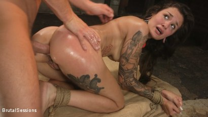 Photo number 24 from Anal Pig: Luna Lovely Abused in Rough Sex and Brutal Rope Bondage shot for Brutal Sessions on Kink.com. Featuring Seth Gamble and Luna Lovely in hardcore BDSM & Fetish porn.