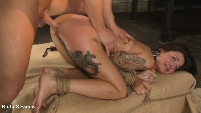 Photo number 25 from Anal Pig: Luna Lovely Abused in Rough Sex and Brutal Rope Bondage shot for Brutal Sessions on Kink.com. Featuring Seth Gamble and Luna Lovely in hardcore BDSM & Fetish porn.