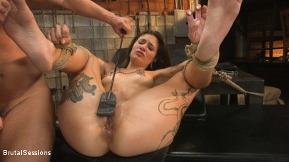 Photo number 28 from Anal Pig: Luna Lovely Abused in Rough Sex and Brutal Rope Bondage shot for Brutal Sessions on Kink.com. Featuring Seth Gamble and Luna Lovely in hardcore BDSM & Fetish porn.