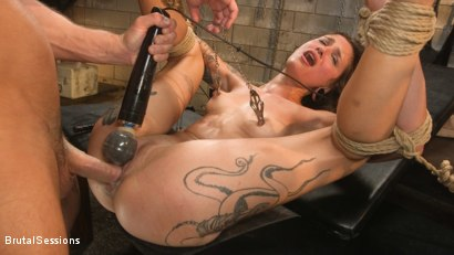 Photo number 31 from Anal Pig: Luna Lovely Abused in Rough Sex and Brutal Rope Bondage shot for Brutal Sessions on Kink.com. Featuring Seth Gamble and Luna Lovely in hardcore BDSM & Fetish porn.