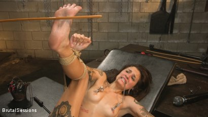 Photo number 33 from Anal Pig: Luna Lovely Abused in Rough Sex and Brutal Rope Bondage shot for Brutal Sessions on Kink.com. Featuring Seth Gamble and Luna Lovely in hardcore BDSM & Fetish porn.