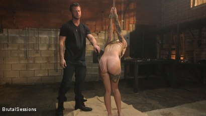 Photo number 3 from Anal Pig: Luna Lovely Abused in Rough Sex and Brutal Rope Bondage shot for Brutal Sessions on Kink.com. Featuring Seth Gamble and Luna Lovely in hardcore BDSM & Fetish porn.